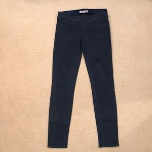 J BRAND Coated Denim Darkest Navy 29